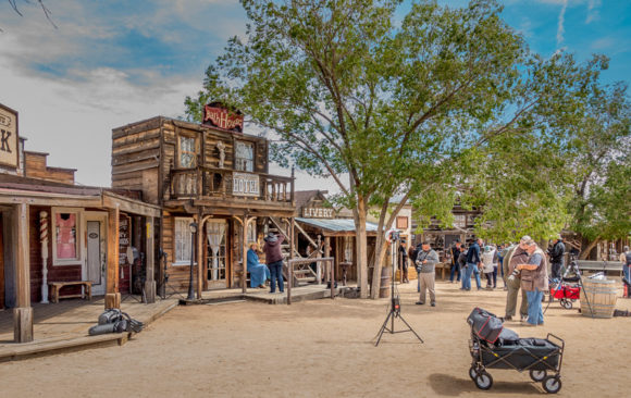 Pioneer Town Movie Set